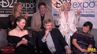 """Star Wars Cast Talk """"Gray"""" Areas Of Good & Evil In 'The Last Jedi'"""