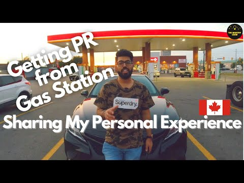 Getting PR By Working At A Gas Station In CANADA | My Gas Station Job Experience