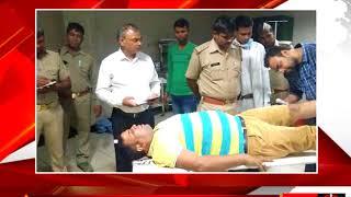मेरठ पुलिस बदमाशों के बीच हुई मुठभेड़ tv24