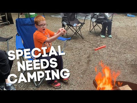 Camping with special needs children DITL
