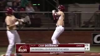 CAA Baseball Weekly Awards | April 22nd, 2019