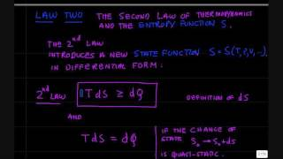 Entropy and Second Law Thermodynamics.wmv