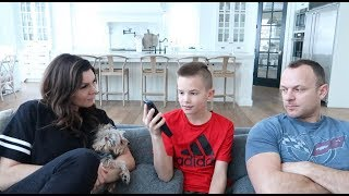 Do we have to take the iPhone away | New iPhone Rules | The LeRoys