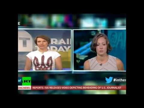 Ukraine Today attacks Kremlin propaganda live on Russia Today