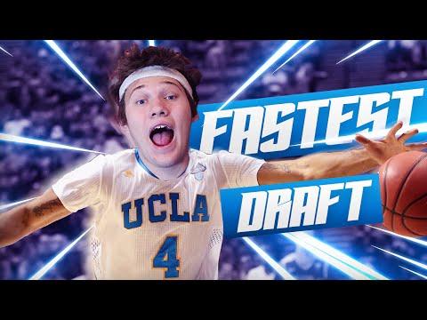 FASTEST PLAYERS DRAFT! – NBA 2K16 DRAFT