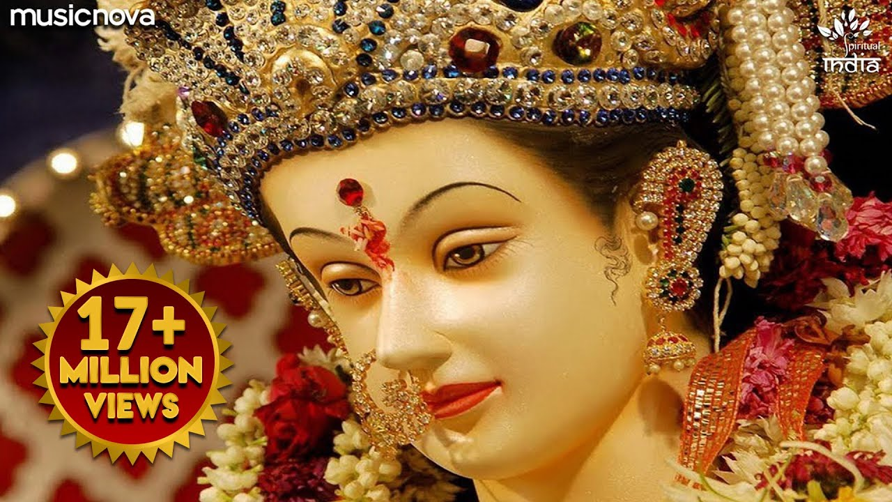Bhor Bhai Din Chad Gaya Meri Ambe - Ambe Maa Aarti | Mata Ki Aarti | Mata Ke Bhajan | Alka Yagnik