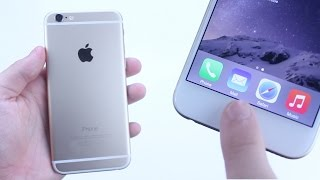 iPhone 6 Touch ID Fingerprint Scanner Setup & Demo