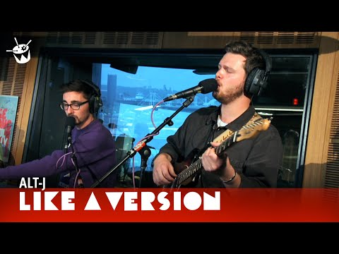 alt-J - 'Breezeblocks' (live for Like A Version)