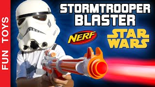 Stormtrooper Blaster Star Wars Rebels Nerf - SURPRISE at the middle of the video - Toys Juguetes