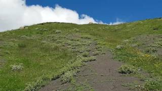 Дорога в облака. Самый высокогорный аул Европы . Куруш.