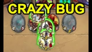 Crazy Bug in Hearthstone