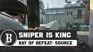 THE SNIPER IS KING | Day of Defeat: Source Gameplay