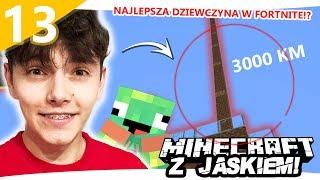 BUDUJEMY NAJWYŻSZĄ WIEŻĘ NA SERWERZE - Minecraft z Jaśkiem #13 | JDABROWSKY
