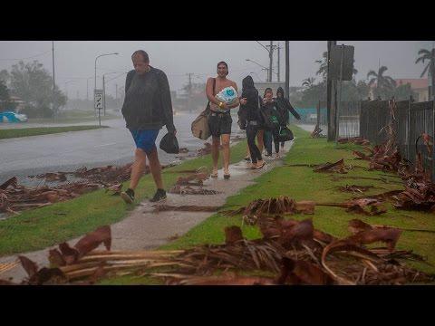 Cyclone Debbie's trail of destruction