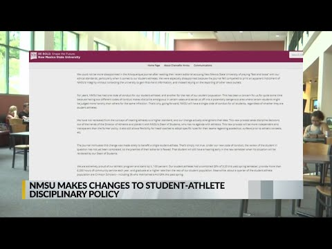 NMSU Policy Regarding Student Athletes Is Coming Under Fire