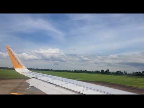 Cloudy Take off Bacolod to Manila Cebu pacific HD