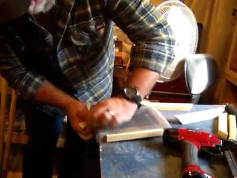 Frame and deckle construction paper making
