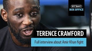 """""""I am the complete fighter, I can do everything!"""" Terence Crawford full interview"""