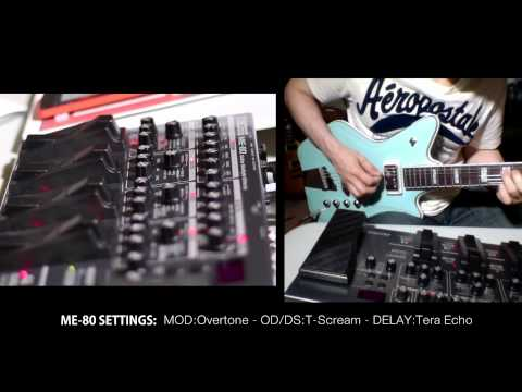 DON'T BUY Boss ME-80 Multi Effects before watching (full Demo HQ)