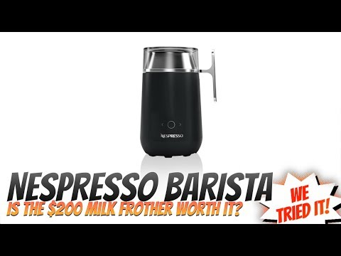 Nespresso Barista Review
