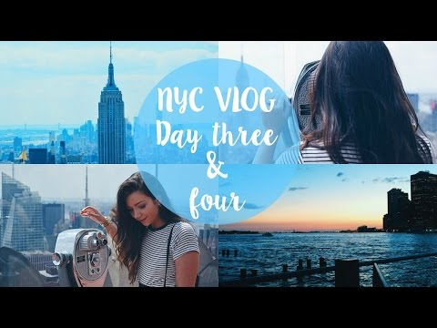 NYC VLOG I Day 3 &  4 I Dizzybrunette3