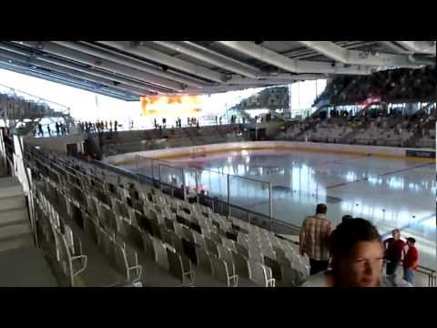 The NEW Albert-Schultz-Halle (11.08.2011) - Walking through the new Arena for the first time