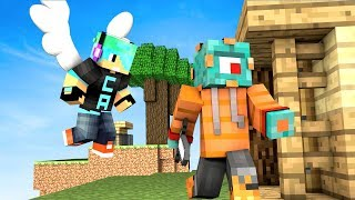 ANGEL CHAD PROTECT ME! | Minecraft Bed Wars RUSH w/ Gamer Chad! | MicroGuardian