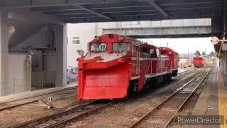 (JR西日本城端線)令和2年11月26日-12月15日ラッセル車の動画まとめ