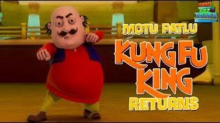 Motu Patlu KungFu King Returns - Full Movie | Animated Movies |  Wow Kidz Movies