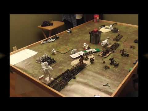 Kings of War Battle Report 3rd edition 2250 Goblins versus Northern Alliance