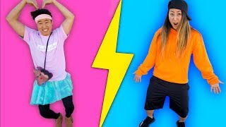 SWITCHING CLOTHES WITH MY BROTHER!!