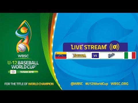 Italy v Venezuela - U-12 Baseball World Cup 2019 - Opening Round