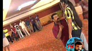 Mammootty & Kunchacko Boban in the funniest moment of Suryathejassode AMMA rehearsal camp - CFN