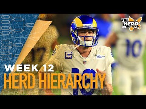 Herd Hierarchy:Colin Cowherd's Top 10 NFL teams heading into Week 12 | NFL | THE HERD