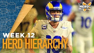 Herd Hierarchy: Colin Cowherd's Top 10 NFL teams heading into Week 12 | NFL | THE HERD