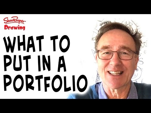 What to put in your portfolio and how to be original!