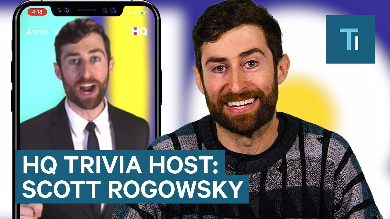 Meet Scott Rogowsky — The Host Of HQ Trivia