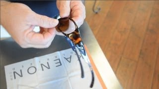 How To Remove and Install Prescription Lenses in Full-Frame Sunglasses