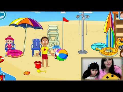 Смешное видео! Танцы на пляже ПРИКОЛЫ