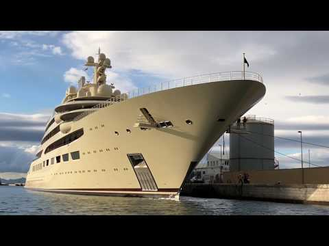 Largest Yacht In The World (by Volume) Dilbar