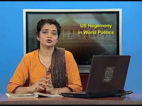 NCERT Video Lecture Series in Political Science: US Hegemony in World Politcs 2