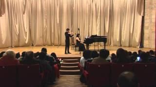 Davit Hakobyan Mozart Violin Concerto No 4 Part 1