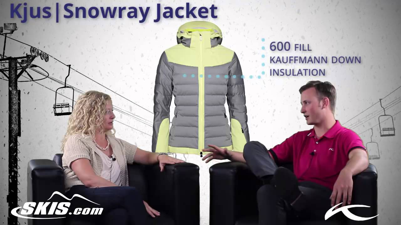 2015 Kjus Snowray Womens Insulated Jacket Overview by SkisDO