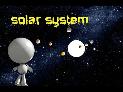 Solar System   Planets and Space for kids children toddlers   Easy learn
