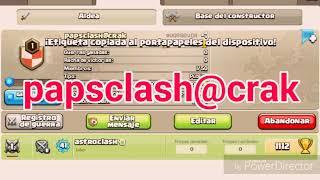 Código y nombre de mi clan de Clash of clans
