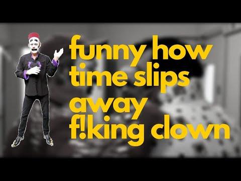 F! King Clown At The Porthcawl Elvis Festival 2017