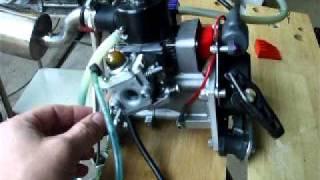 Motor Zenoah 23 cc
