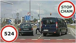 Stop Cham #524 - Niebezpieczne i chamskie sytuacje na drogach