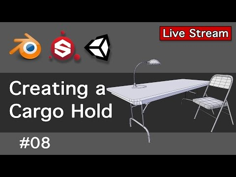 Creating a Cargo Hold 08-Live Stream
