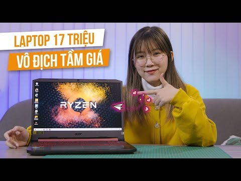 Vô Địch Tầm Giá | Laptop Chơi Game AMD Có Thể Mát Cỡ Nào? Acer Nitro 5 Ryzen 5 3550H, Radeon RX 560X
